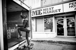CSA Drop offs at Acme Meat Market